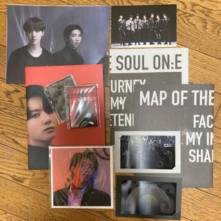 防弾少年団(BTS) - BTS map of the soul on:e フォトブック 付属品セット