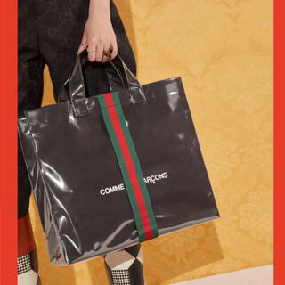 Gucci - グッチ GUCCI  コム・デ・ギャルソン トートバッグ 100周年 新品
