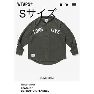 W)taps - Sサイズ WTAPS LEAGUE/LS/COTTON.FLANNEL オリーブ