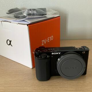 SONY - SONY デジタルカメラ VLOGCAM ボディ ブラック ZV-E10(B)