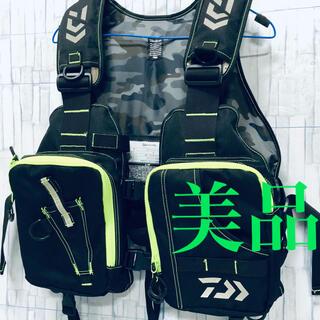 DAIWA - 【美品】DAIWA ダイワ フィッシングベスト DF-6406