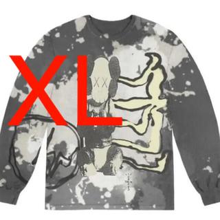 フラグメント(FRAGMENT)のfragment cactus jack kaws L/S XL(Tシャツ/カットソー(七分/長袖))