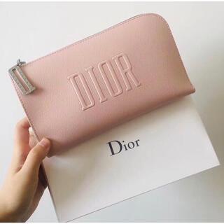 Christian Dior - ディオール ポーチ サクラピンク 新品 箱付き