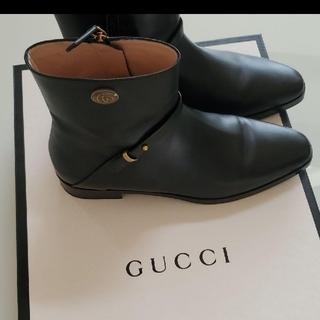 グッチ(Gucci)のGucci  グッチ ブーツ ショート 美品(ブーツ)