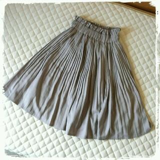 ミスティウーマン(mysty woman)のミスティウーマン プリーツスカート(ひざ丈スカート)