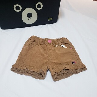 ダブルビー(DOUBLE.B)の【新品タグ付】ミキハウス・ダブルB パンツ 110サイズ(パンツ/スパッツ)