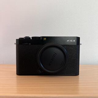 富士フイルム - X-E4 ボディ ブラック 美品・完動品
