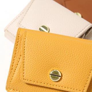 Legato Largo - レガートラルゴ Legato Largo 3つ折り ミニ財布 レディース財布