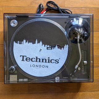 パナソニック(Panasonic)の【美品】Technics SL-1200MK6 ブラック ターンテーブル(ターンテーブル)