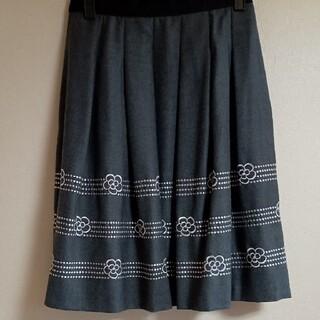 エムズグレイシー(M'S GRACY)の美品エムズグレイシースカート(ひざ丈スカート)
