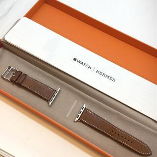 Hermes - HERMES Apple Watch ベルト レザー