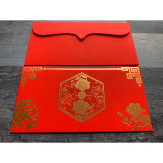 紅包(ホンバオ)3種 各1枚 【ヒ蜜のおまけ付】ご祝儀袋 ポチ袋 お年玉袋