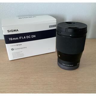SIGMA - SIGMA 16mm F1.4 DC DN Contemporary C017