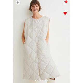 エイチアンドエム(H&M)のH&M キルティングベスト 新品 タグ付き(ダウンベスト)