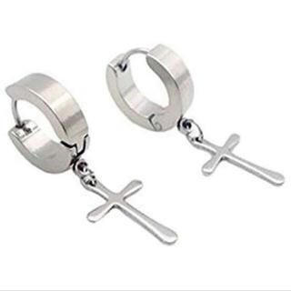 FUNKY FRUIT - ✞⃛ Silver Cross Pierce ✞⃛