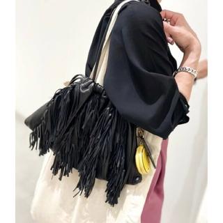 L'Appartement DEUXIEME CLASSE - アパルトモンGOOD GRIEF Lamb Leather Fringe Bag