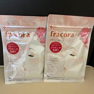 フラコラ - 新品♡fracoraプラセンタつぶ 90粒♡2袋セット