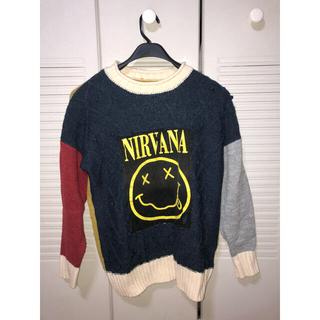 HYSTERIC GLAMOUR - 【リメイク】Nirvana ニット・セーター