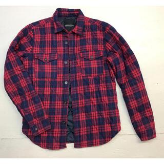 ローズバッド(ROSE BUD)のROSE BUD ローズバッド 中綿入りネルシャツ(シャツ/ブラウス(長袖/七分))