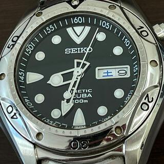 SEIKO - SEIKO キネティック スキューバ 充電式時計 200メートル