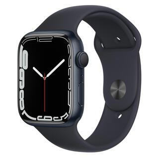 Apple Watch Series 7(GPSモデル)45mm ミッドナイト