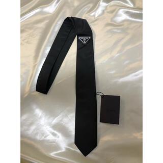 PRADA - PRADA ネクタイ ブラック 黒 プラダ