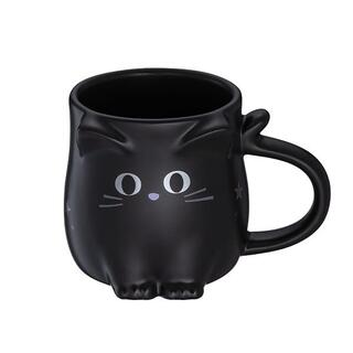 Starbucks Coffee - スターバックス :黒猫 マグカップ 台湾 スタバ 3oz