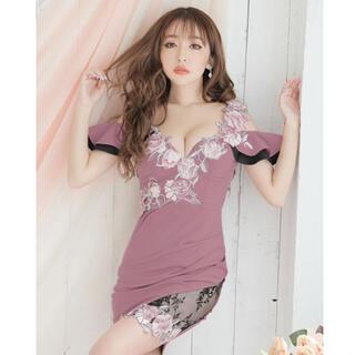 JEWELS - 花柄刺繍ドレス