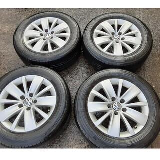 フォルクスワーゲン(Volkswagen)のフォルクォスワーゲン、シャラン純正ホイールタイヤセット(タイヤ・ホイールセット)