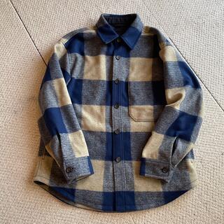 ユニクロ(UNIQLO)のユニクロ ブロックチェック オーバーシャツジャケット(その他)