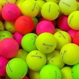 TaylorMade - ■52・ロストボール テーラーメイド マットカラー 50球 B