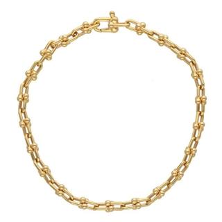 Tiffany & Co. - ティファニー 18Kマイクロリンクブレスレット S