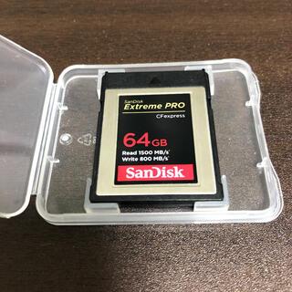 サンディスク(SanDisk)のSanDisk CFexpress Type B Extreme PRO 64(その他)