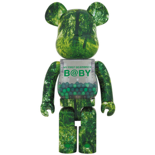 MEDICOM TOY - 送込 1000% MY FIRST BE@RBRICK FOREST GREEN