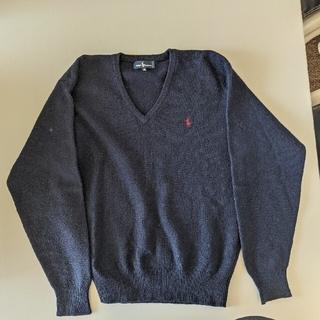 ラルフローレン(Ralph Lauren)のラルフローレン セーター 紺(ニット/セーター)