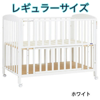 KATOJI - KATOJI★ベビーベッド ハイタイプ 床板すのこ タチベッド(レギュラー)