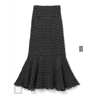 GRL - GRL フリンジツイードマーメイドスカート