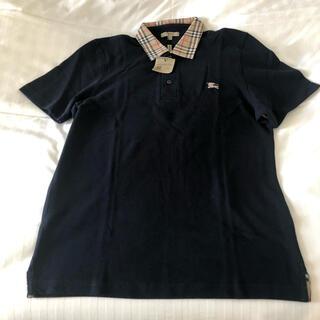 バーバリー(BURBERRY)のタグ付き新品 バーバリー 半袖ポロシャツ Mサイズ burbery(ポロシャツ)