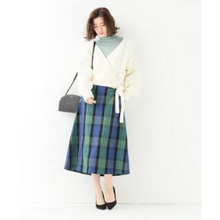 IENA - ⚪︎⚪︎IENA C/Vis チェックトラペーズスカート  ¥19,800