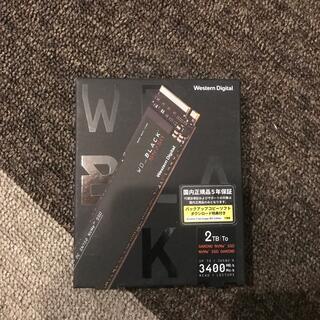sn 750 2TB(PCパーツ)