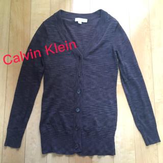 カルバンクライン(Calvin Klein)のCalvin Klein ロングカーディガン(カーディガン)