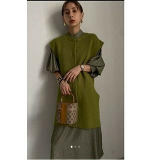 Ameri VINTAGE - MANY WAY VEST LAYERED SHIRT DRESS