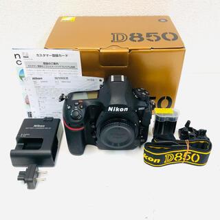 Nikon - 【極美品】Nikon D850 ボディ ニコン デジタル一眼 約1,400回