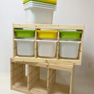 イケア(IKEA)のIKEA イケア トロファスト TROFAST 2セットケースおまけ(棚/ラック/タンス)