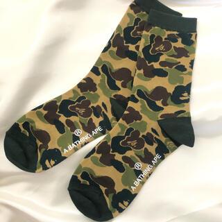 A bathing ape bape ベイプ ソックス 靴下