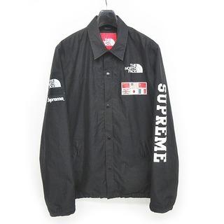 Supreme - シュプリーム x ザ ノースフェイス 14SS コーチジャケット 黒 L