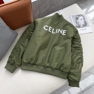 セリーヌ(celine)のMiss Bambi♬様の  ロゴ プリント シェル ツイル ボンバージャケット(テーラードジャケット)