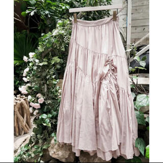 Asymmetric Tiered Cotton-Voile Skirt S