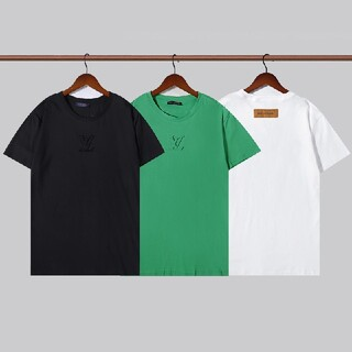 ☆Tシャツ2枚8000円送料無料☆LV0406男女兼用半袖