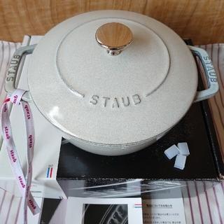 ストウブ(STAUB)のstaub【美品】ワナベM カンパーニュ 18㎝(鍋/フライパン)